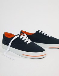 Polo Ralph Lauren Cp 93 Capsule Canvas Trainers In Navy Aviator Navy