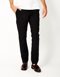 Only And Sons Sharp Chino Black