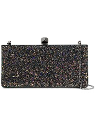 Jimmy Choo Celeste Glittered Clutch Women Cotton Leather Polyester One Size
