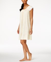 Charter Club Lace Trim Floral Print Nightgown Only At Macy's Blushing Floral