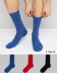 Pringle Socks In 3 Pack Multi