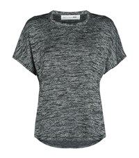 Rag And Bone Cut Out Shoulder T Shirt Female Grey