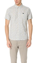 Rvca Top Poppy Short Sleeve Shirt Antique White