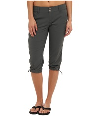 Columbia Saturday Trail Ii Knee Pant Grill Women's Capri Gray