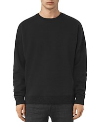Allsaints Elders Sweatshirt Jet Black