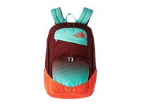 The North Face Wise Guy Backpack Barolo Red Bermuda Green Backpack Bags Multi