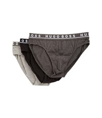 Hugo Boss Brief 3 Pack Co El 10146061 01 Charcoal Black Dark Grey Men's Underwear Multi