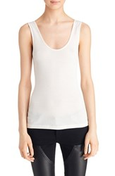 Women's Givenchy Ribbed Modal And Wool Jersey Tank