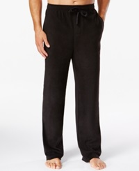 Perry Ellis Solid Fleece Pajama Pants