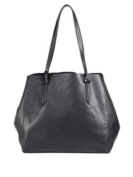 Kendall Kylie Izzy Unlined Leather Tote Rose Cloud