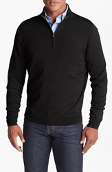 Nordstrom Half Zip Merino Wool Sweater