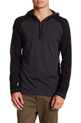 Burnside Two Tone Hooded Pullover Gray