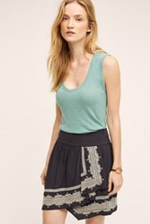 Anthropologie Wide Strap Tank Canton
