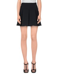 Kristina Ti Skirts Mini Skirts Women Black