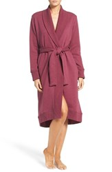 Uggr Women's Ugg 'Karoline' Fleece Robe Loneley Hearts Heather