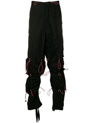 Unravel Project Coulisse Trousers Black