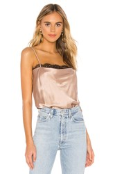 Cami Nyc The Rosie Bodysuit Taupe