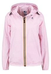 K Way Kway Claudette Waterproof Jacket Pink Soft Lila