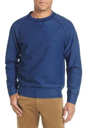 Billy Reid 'Fisher' Raglan Crewneck Pullover Blue