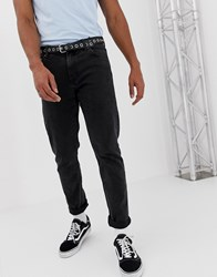 Weekday Sunday Tapered Jeans Tuned Black