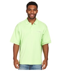 Columbia Perfect Cast Polo Jade Lime Men's Short Sleeve Pullover Green