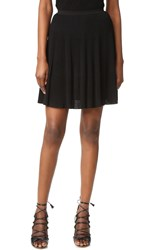 Versace Pleated Skirt Black