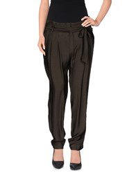 Sinequanone Trousers Casual Trousers Women Military Green