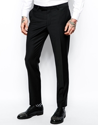 Noose And Monkey Suit Trousers In Skinny Fit Black