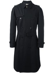 Burberry 'Westminster' Trench Coat Black