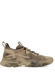 Bruno Bordese Pulsar Low Top Leather Sneakers Sand
