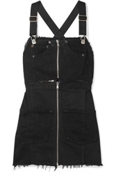 Re Done Denim Mini Dress Black