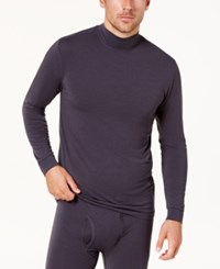 32 Degrees Men's Base Layer Turtleneck Shirt Coal