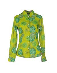 Ganesh Shirts Shirts Women Acid Green