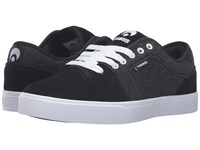 Osiris Decay Black Denim Men's Skate Shoes