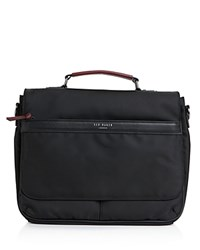 Ted Baker Tograin Faux Leather Trim Messenger Bag