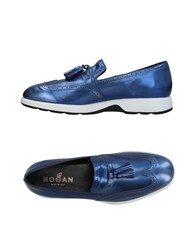 Hogan Loafers Bright Blue
