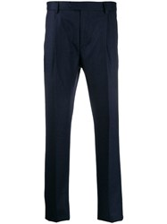 Caruso Tailored Trousers Blue