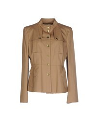 Burberry London Suits And Jackets Blazers Women Camel