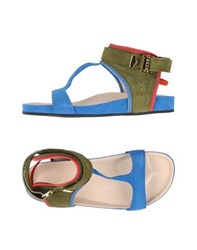Preen Footwear Sandals Women Blue