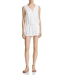 Yfb On The Road Hayley Drawstring Romper White