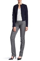 Hugo Boss Wool Blend Pant Gray