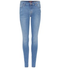 7 For All Mankind The Skinny Jeans Blue