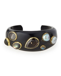 Ashley Pittman Sifa Dark Horn Cuff Bracelet