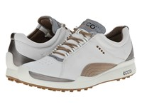 Ecco Biom Golf Hybrid White Mineral Women's Golf Shoes