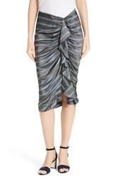 Veronica Beard Women's Drew Cascade Ruffle Pencil Skirt