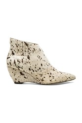 Matisse Nugent Cow Hair Bootie White