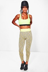 Boohoo Bright Fitted Leggings Multi