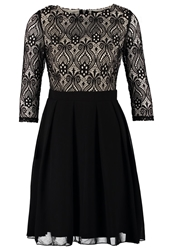 Little Mistress Cocktail Dress Party Dress Black Cream