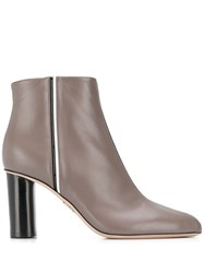 Rodo Stripe Detail Ankle Boots 60