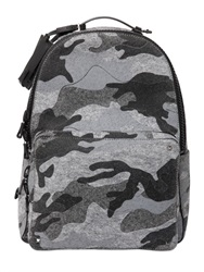 Valentino Camouflage Cotton Felt Backpack